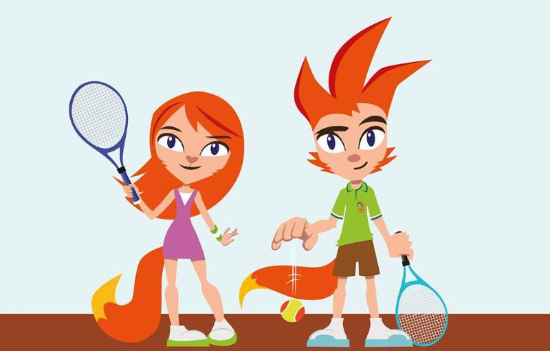 Tenniskids - TC de Vijfhuizen